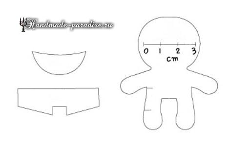 Текстильная кукла примитив своими руками (12)