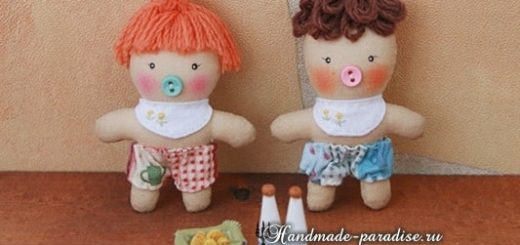 Текстильная кукла примитив своими руками