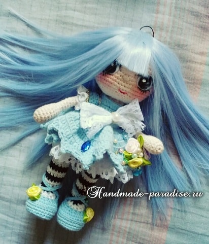Вязаная крючком мода для кукол амигуруми (2)