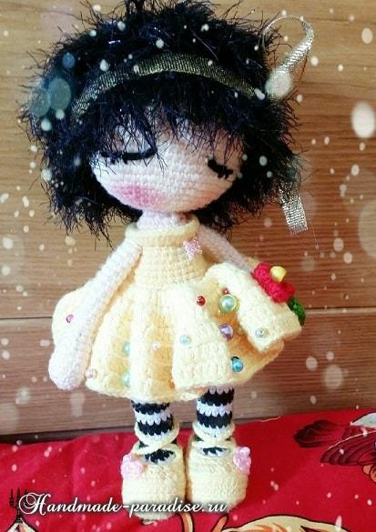 Вязаная крючком мода для кукол амигуруми (4)