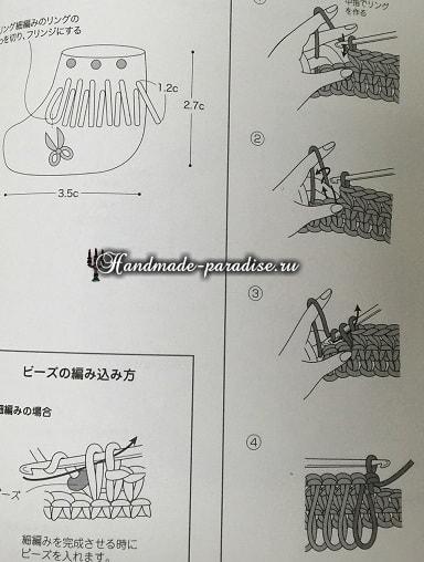 Вязаная мода для кукол амигуруми. Схемы (3)
