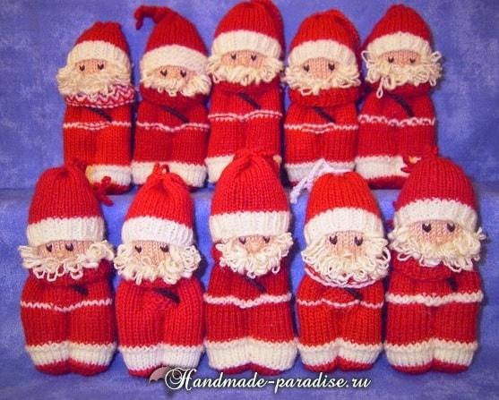 Вязание спицами куколки примитива (4)