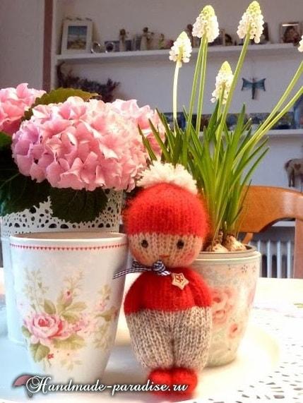Вязание спицами куколки примитива (5)