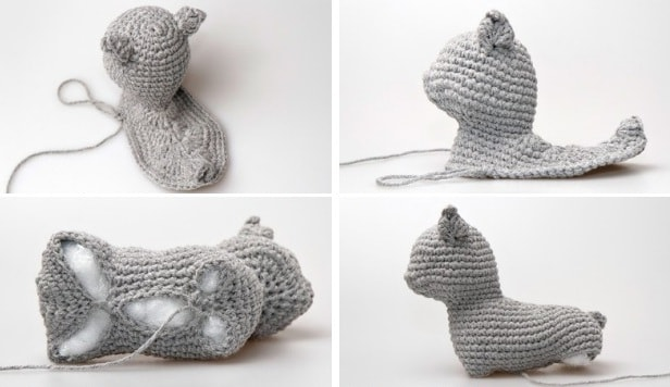 Кошка амигуруми. Описание вязания крючком (6)