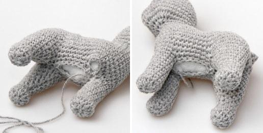Кошка амигуруми. Описание вязания крючком (8)