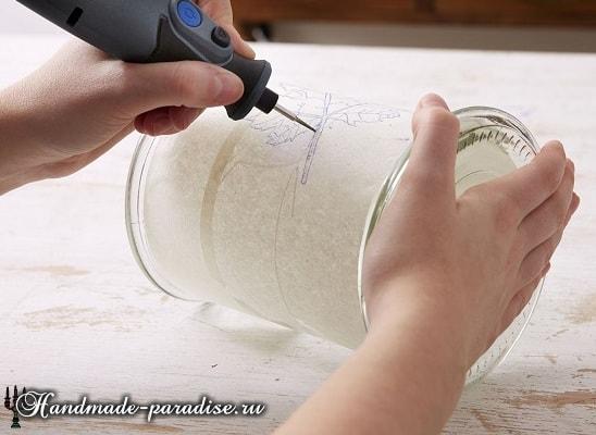 Подсвечник с гравировкой своими руками (5)