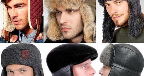 С чем носить мужские шапки-ушанки?
