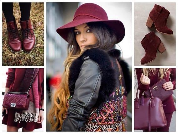 Благородный и элегантный цвет марсала – в моде и 2016 году (2)