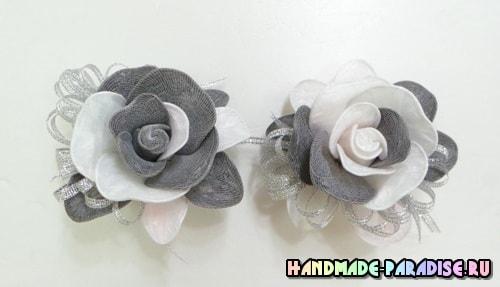 Цветы из полиэтиленовых пакетов (3)