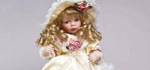 Авторские фарфоровые куклы ручной работы – роскошь в каждой детали