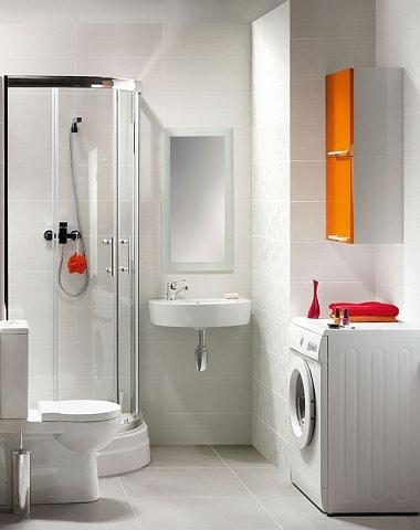 Дизайн небольшой ванной комнаты (2)