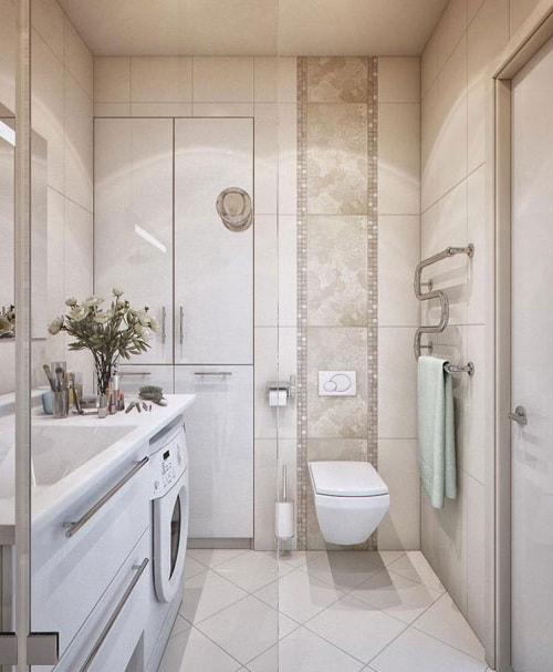 Дизайн небольшой ванной комнаты (5)