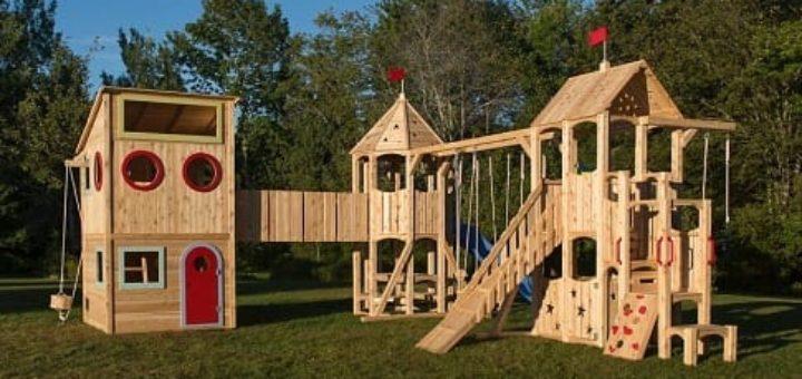 Игровое пространство: детская песочница для дачи и другое