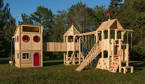 Игровое пространство: детская песочница для дачи и другое (2)