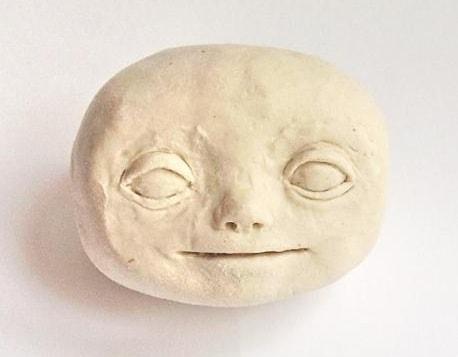 Как слепить голову куколки из полимерной глины