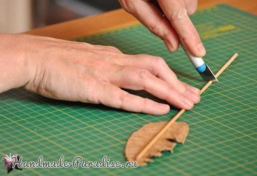 Пишущее перо и чернила своими руками (10)