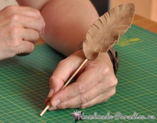 Пишущее перо и чернила своими руками (18)