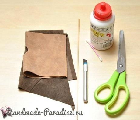 Пишущее перо и чернила своими руками (6)