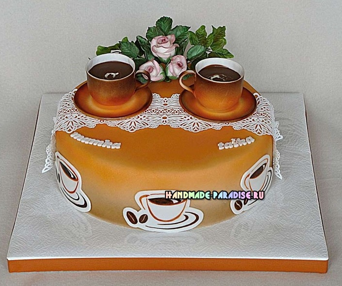 Подставка для торта своими руками (4)