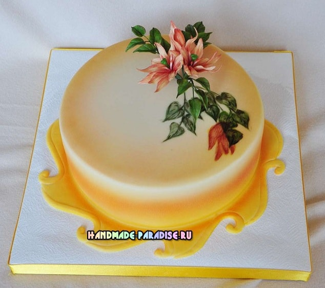 Подставка для торта своими руками 787