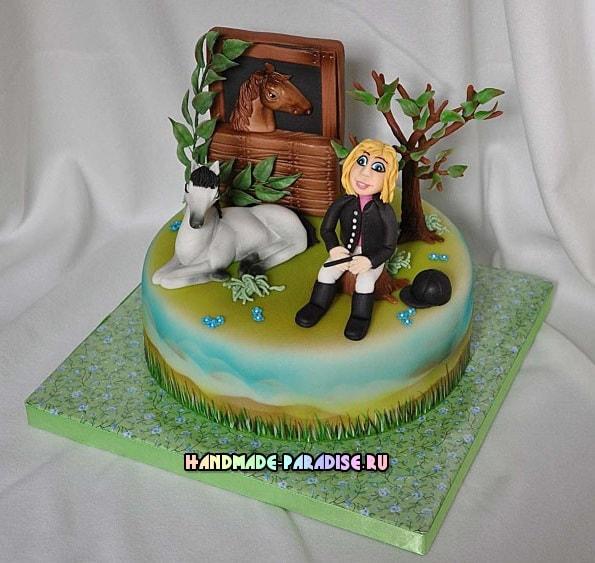 Подставка для торта своими руками (8)