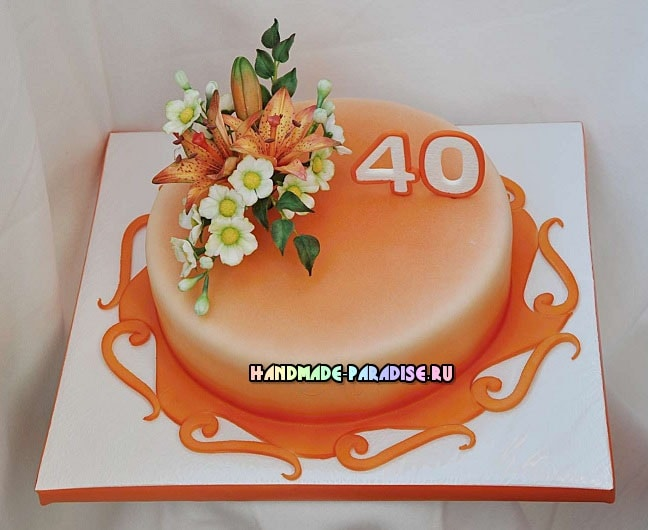 Подставка для торта своими руками (9)