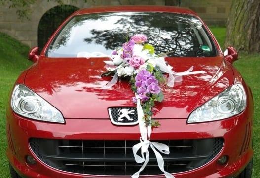 Украшение свадебных машин своими руками (3)