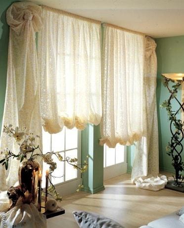 Дизайн штор в спальню (2)