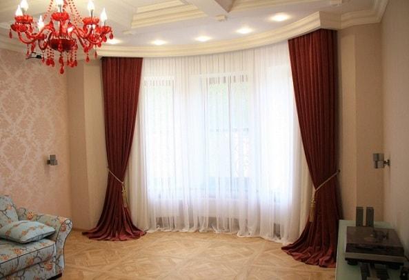 Дизайн штор в спальню (3)
