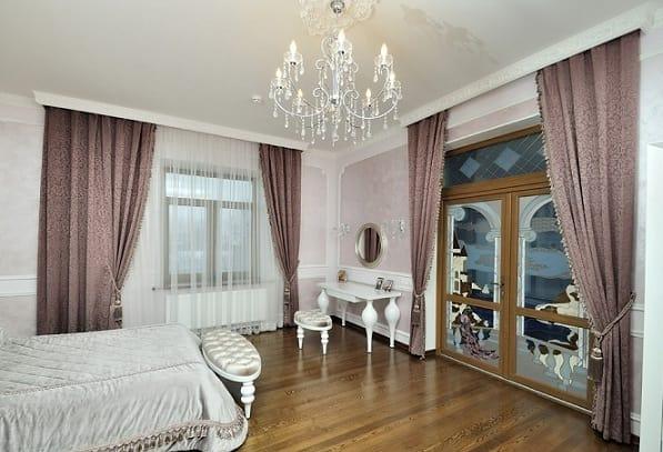 Дизайн штор в спальню (4)