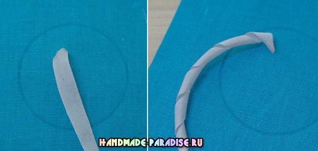 Как вышить лентами букет розочек (4)
