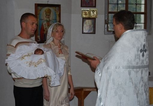 Крыжма для крещения (3)