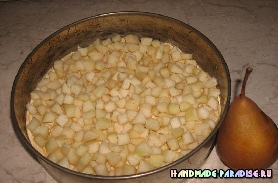 Рецепт грушевого пирога (3)