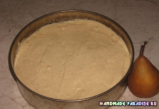 Рецепт грушевого пирога (4)