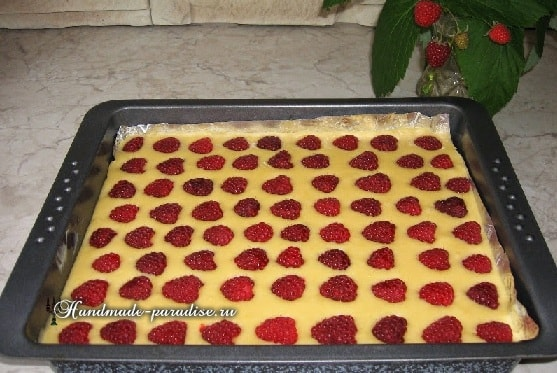 Рецепт малинового пирога (2)