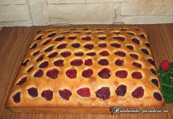 Рецепт малинового пирога (3)