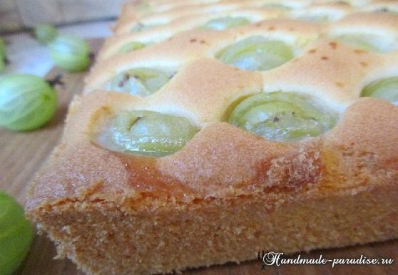 Рецепт сладкого пирога с крыжовником (3)