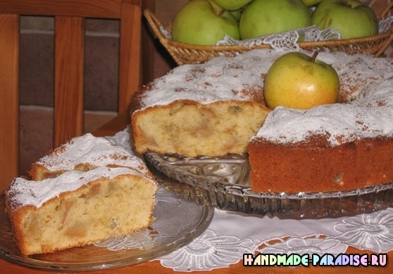 Рецепт яблочного пирога (2)