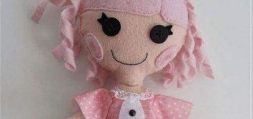 Шьем куколку из фетра. Выкройка