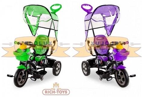 Трехколесный велосипед Rich Toys Family (2)