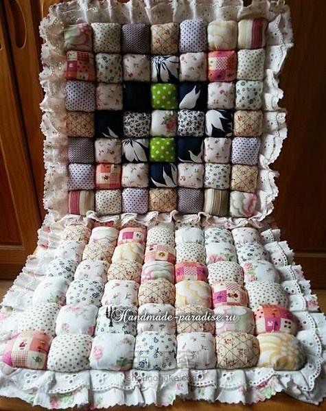 Как сшить мягкую подушку для стула