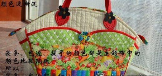 Шьем сами сумочку интересной формы