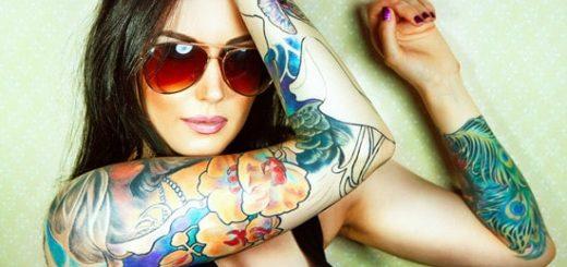 Выбор рисунка татуировки для девушки