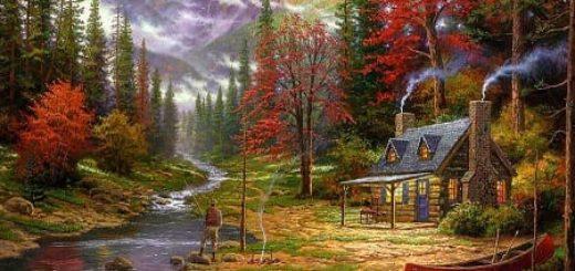 Фотообои с лесными и древесными изображениями