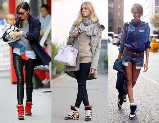 Неповторимые кроссовки-маранты для прекрасных дам