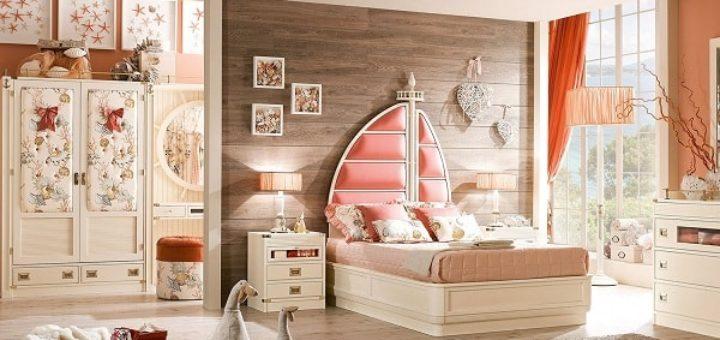 Оформление стен и интерьер детской комнаты