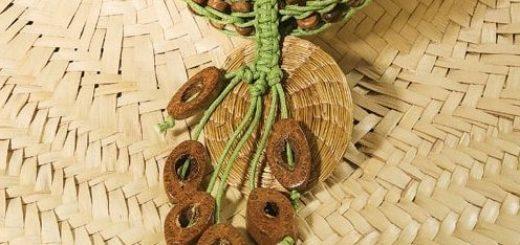 Плетение шнура с бусинами. Мастер-класс