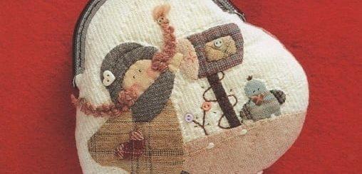 Журнал «Shinnie Quilt». Кошельки и сумочки в технике пэчворк