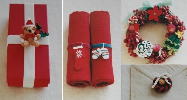 Игрушки амигуруми к Новому году