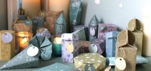 Коробочки для подарков своими руками. Шаблоны